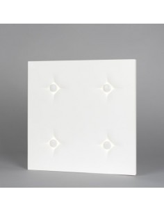 BRICK IN THE WALL Button 2x2 Surface LED DIM 230VAC