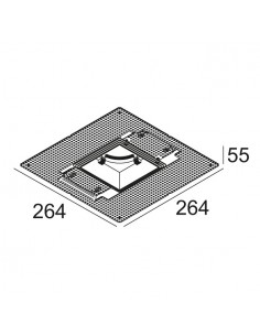 Delta Light MOUNTING KIT S102 TRIMLESS O.F.A.