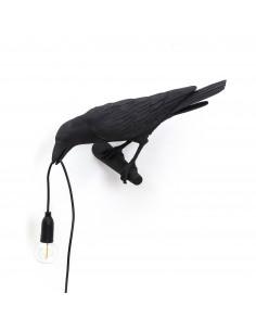 SELETTI Bird lamp Left Indoor Black