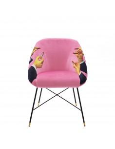 SELETTI Toiletpaper Chair - Lipsticks Pink
