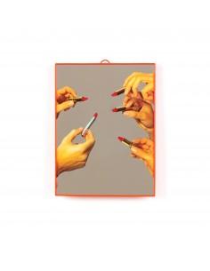 SELETTI Toiletpaper Mirror 22,5x29,5 cm - Lipstick