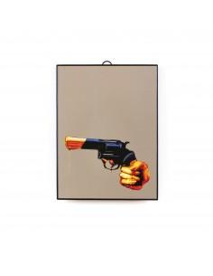 SELETTI Toiletpaper Mirror 22,5x29,5 cm - Revolver