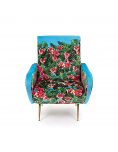 SELETTI Toiletpaper Armchair  - Roses