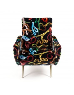 SELETTI Toiletpaper Armchair  - Snakes