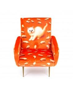 SELETTI Toiletpaper Armchair  - Kitten