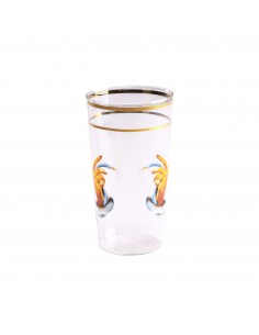 SELETTI Toiletpaper glass - hands with snakes
