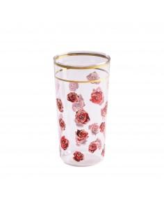 SELETTI Toiletpaper glass - roses