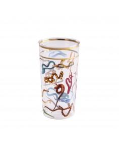 SELETTI Toiletpaper glass - snakes