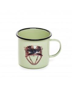 SELETTI Toiletpaper mug metal enameled - eye