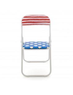 SELETTI Studio Job-Blow Folding chair  - Popcorn