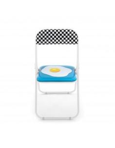 SELETTI Studio Job-Blow Folding chair  - Egg