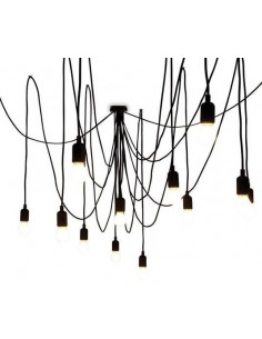 SELETTI Maman Dimmable Pendant with Frosted Lightbulb