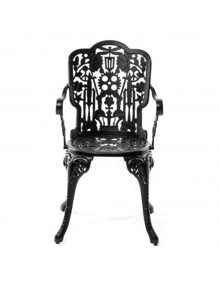 SELETTI Industry Collection Aluminium Chair 52x55 cm