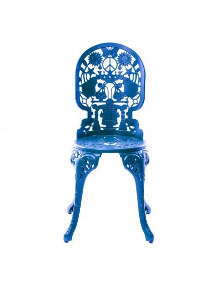 SELETTI Industry Collection Aluminium Chair 40x40 cm