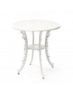 SELETTI Industry Collection Aluminium Table Dia. 70 cm