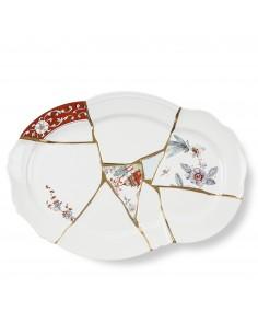SELETTI Kintsugi Porcelain Tray