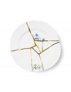 SELETTI Kintsugi Porcelain plate n'3