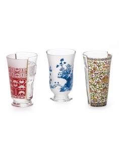 SELETTI Hybrid Glass Set of 3 - Clarice