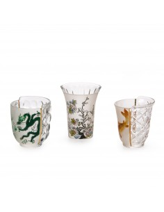 SELETTI Hybrid Glass Set of 3 - Aglaura