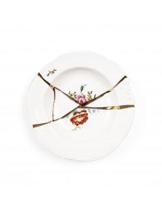 SELETTI Kintsugi - n'2 soup bowl in porcelain
