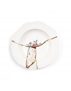 SELETTI Kintsugi - n'3 soup bowl in porcelain