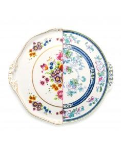SELETTI Hybrid Porcelain round plate  - Dorotea