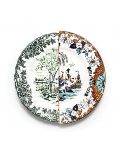 SELETTI Hybrid Porcelain Plate - Ipizia