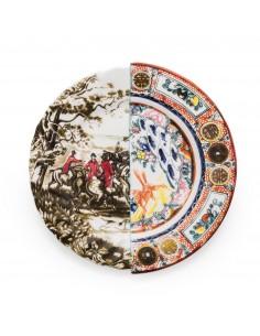 SELETTI Hybrid Porcelain Plate - Eusapia