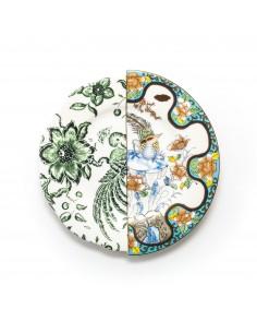 SELETTI Hybrid Porcelain Dessert Plate - Zoe