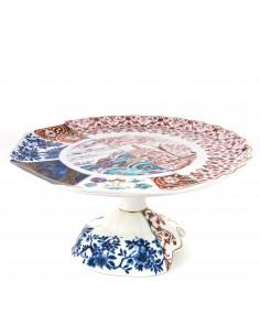 SELETTI Hybrid Porcelain Cake-stand - Moriana