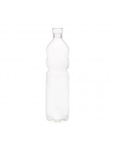 SELETTI Estetico Quotidiano si-bottle glass bottle - 8cm/34cm H