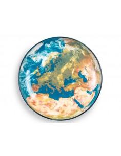 SELETTI Diesel Cosmic Diner plate - Earth Europe