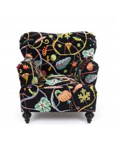 SELETTI Botanical Diva Sofa - Black