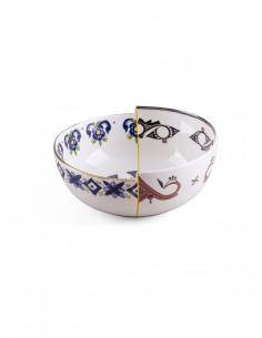 SELETTI Hybrid Porcelain Bowl - Tiwanaku