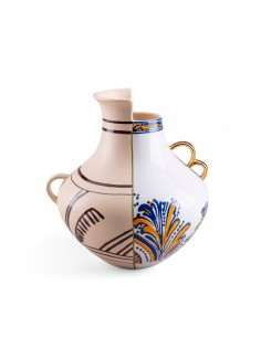 SELETTI Hybrid Porcelain Vase - Nazca