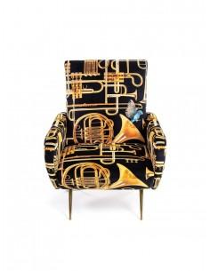 SELETTI Toiletpaper Armchair  - Trumpets