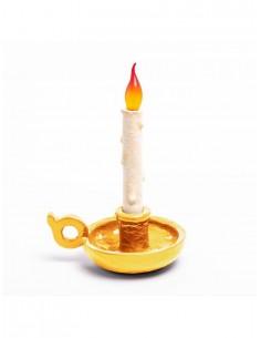 SELETTI Blow Bugia Lamp - Gold