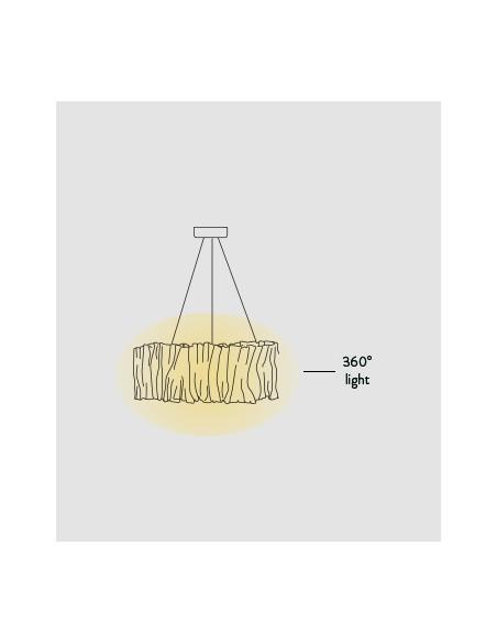 SLAMP Accordéon Pendant Lamp