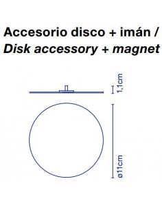 Marset DIPPING LIGHT DISK ACCESORY + MAGNET